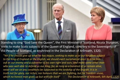 Sturgeon Betrays Scotland