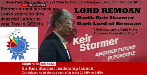 How Keir Starmer turned his back on Leave voters
